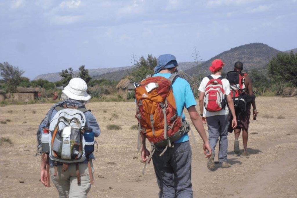 Loita hills walking safari cultural adventures masai community Walking Safari