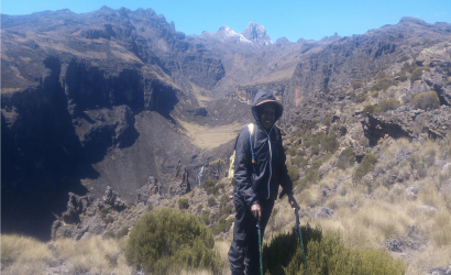 3 NIGHTS MOUNT KENYA CLIMBING CHOGORIA SIRIMON ROUTE