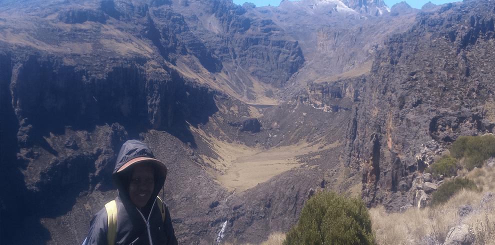 5 Days mount kenya climbing chogoria route down sirimon route