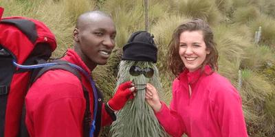 Mount kenya climbing Water Rafting